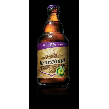 Brunehaut Triple - Bière sans gluten 33cl